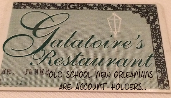 Galatoires House Account on www.CourtneyPrice.com
