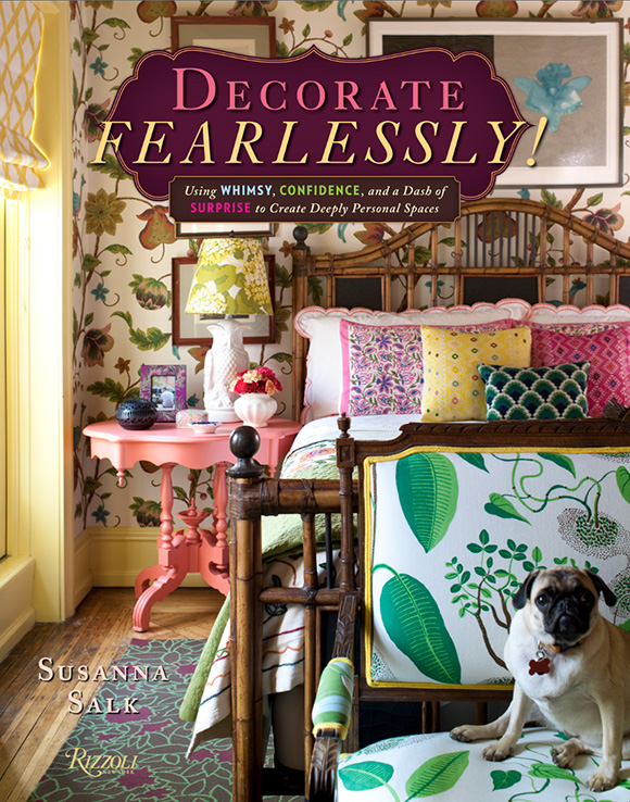 Decorate Fearlessly, by Susanna Salk - reviewed on www.CourtneyPrice.com