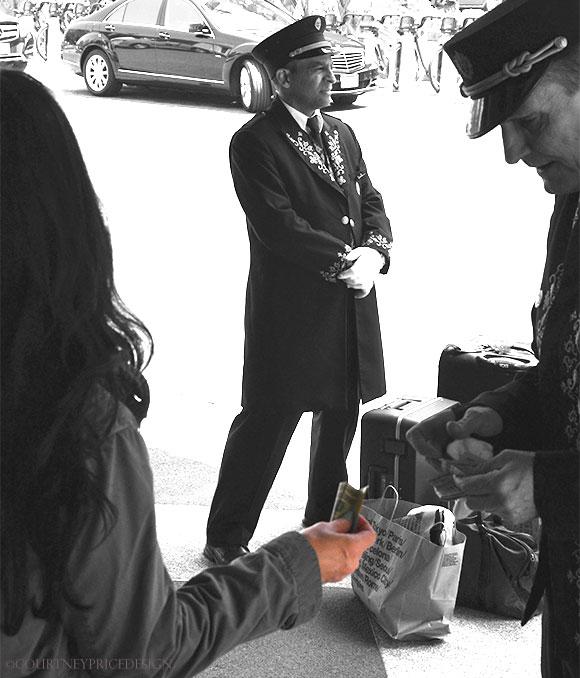 NYC Doorman, on www.CourtneyPrice.com