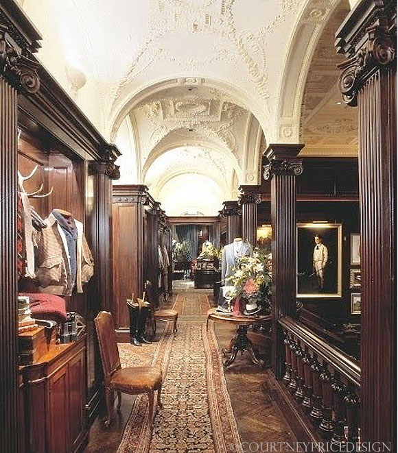 Ralph Lauren NYC flagship, as seen on CourtneyPrice.com