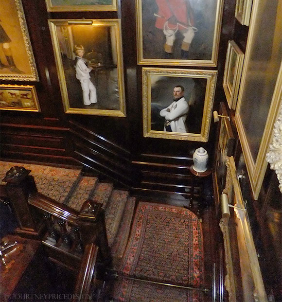 Ralph Lauren Flagship, Staircase, story behind the mansion on www.CourtneyPrice.com