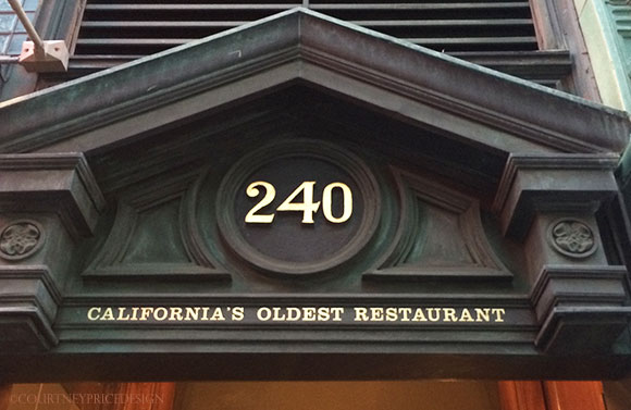 Tadich Grill, oldest restaurant in San Francisco, California's oldest restaurant,  on www.CourtneyPrice.com