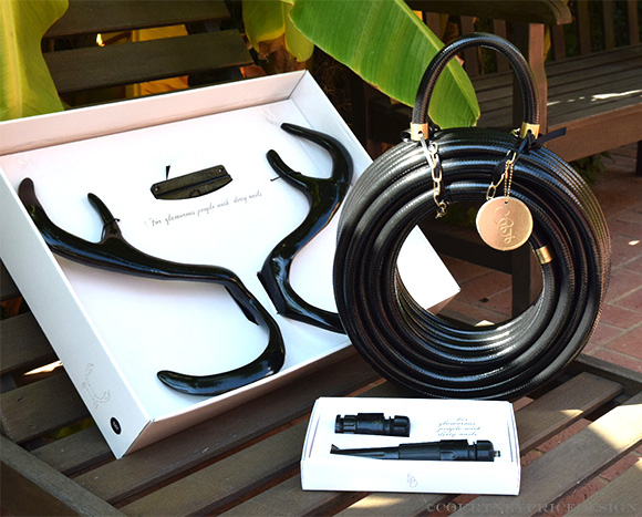 Dress up the outdoors, garden hose options and accessories on www.CourtneyPrice.com
