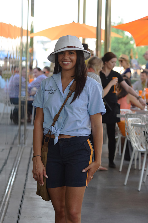Veuve Mail Carrier, Veuve Cliquot, Dallas on www.CourtneyPrice.com