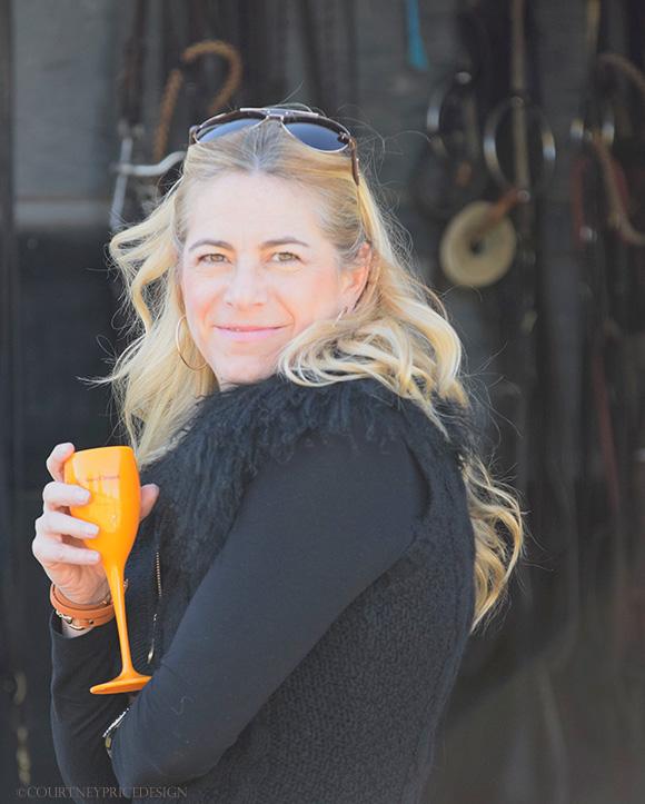 Ann Carpenter, Polo Match, on www.CourtneyPrice.com