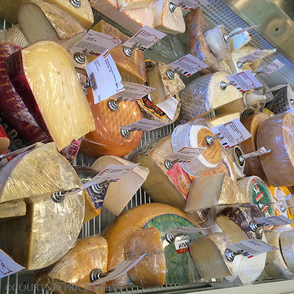 Tailgating Food: Cheese Assortment on www.CourtneyPrice.com