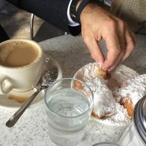 Beignets and Cafe Du Monde on www.CourtneyPrice.com