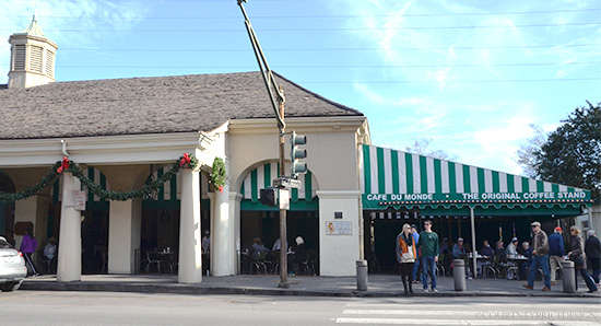 New Orleans: Cafe Du Monde's  Beignets & Coffee - and expansion rumors on www.CourtneyPrice.com