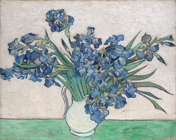 Van-Gogh_Irises at the MET: www.CourtneyPrice.com