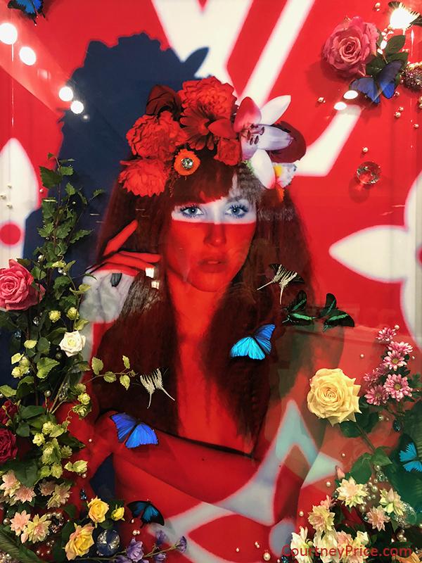 interactive art exhibit, Psychedelic Robot, experiential art, pop-up, Dallas art, on CourtneyPrice.com