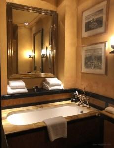 Blakes Hotel bathroom, as seen on www.CourtneyPrice.com