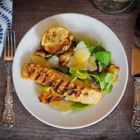 Caesar Salmon Salad, Reimagined