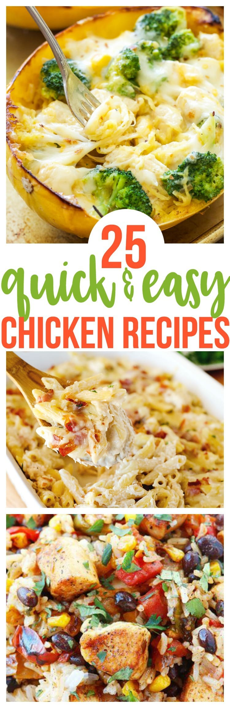25 Quick and Easy Chicken Recipes - Courtney's Sweets