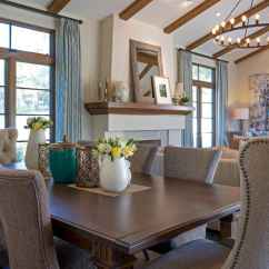 House Of Turquoise Living Room Nautical Home Decor La Canada Blvd Interior Courtney Thomas Design Dining Table A
