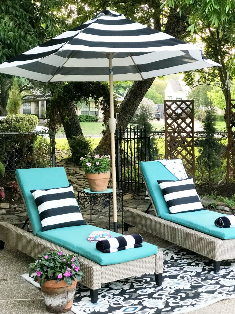 to beautify your back yard on the cheap