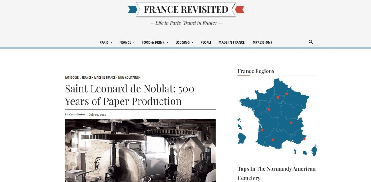 France Revisited article