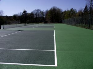 Tennis courts at Henley