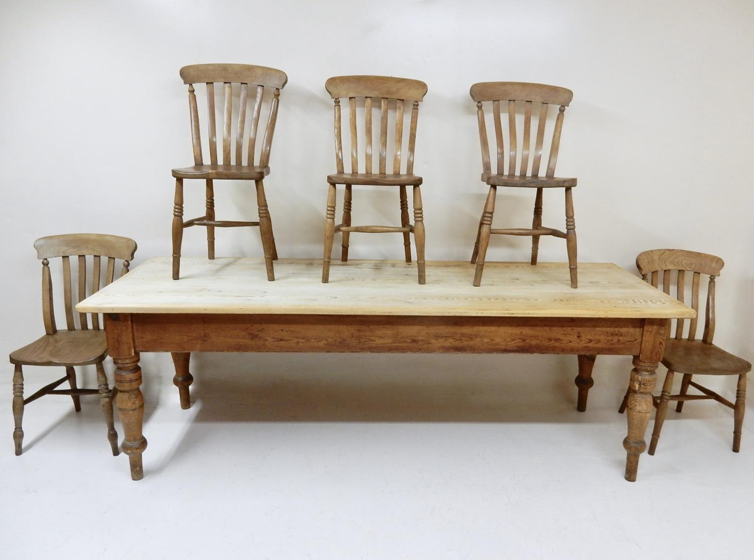 pine kitchen chairs ireland large round patio table and antique in tables