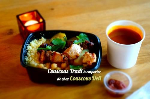 Couscous Tradi à emporter de chez Couscous Deli