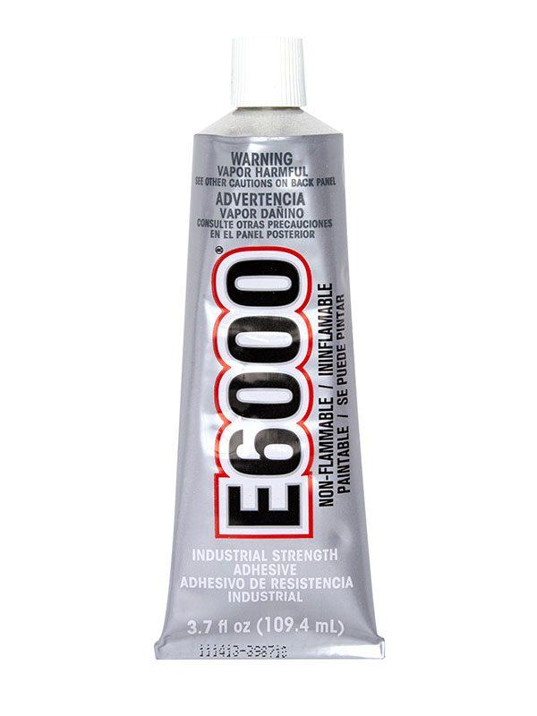 E6000 Permanent Craft And Jewelry Glue 3 7 Oz Cousindiy