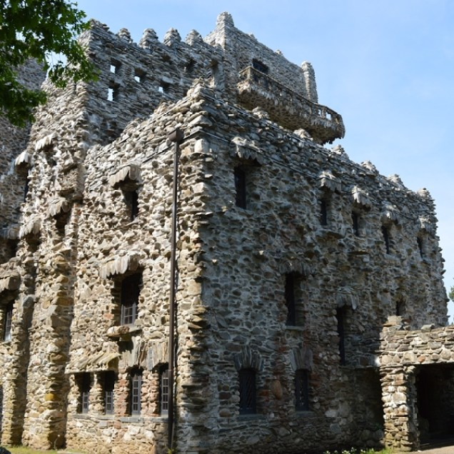 Gillette Castle Balcony