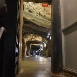Access tunnels inside Hoover Dam