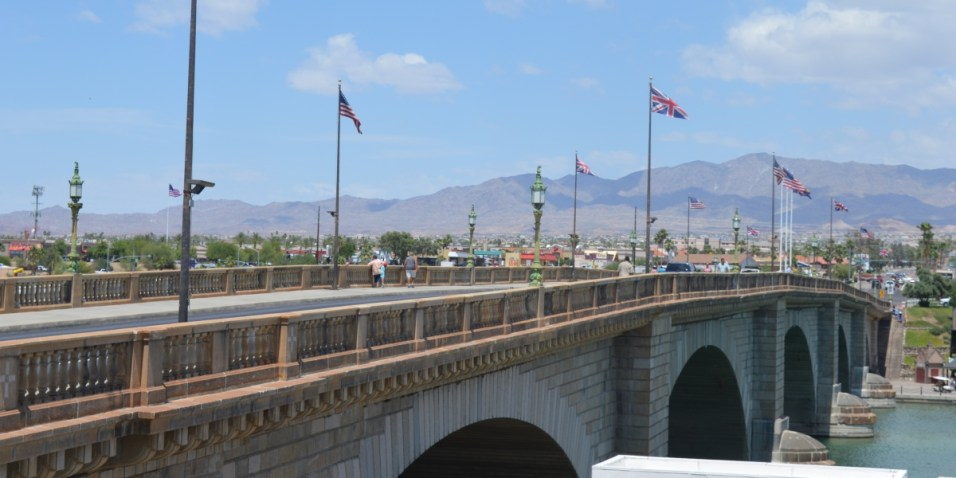 Lake Havasu City - London Bridge from the Cantina