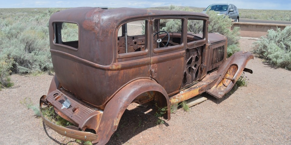 Petrified Forest old truck