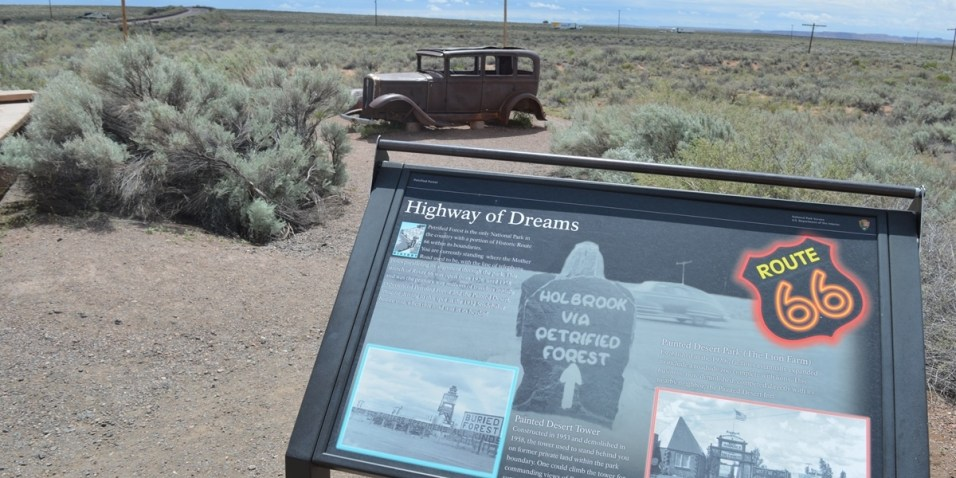 Petrified Forest Route 66
