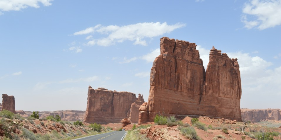 Arches National Park - Courthouse Towers