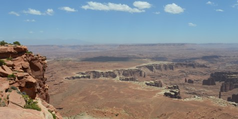 Canyonlands N.P. - Grand View Point overlook
