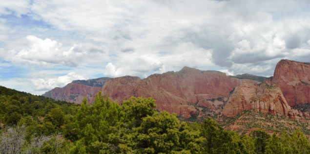Kolob Canyon from the parking lot