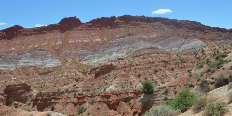 Paria Cliffs from the road
