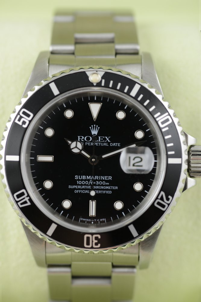 rolex submariner date ref 16610 couture watch rolex. Black Bedroom Furniture Sets. Home Design Ideas