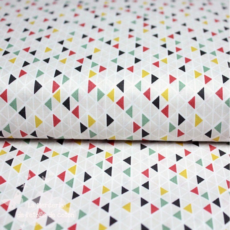 Triangles multicolore