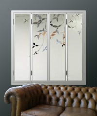 GLASS window shutters