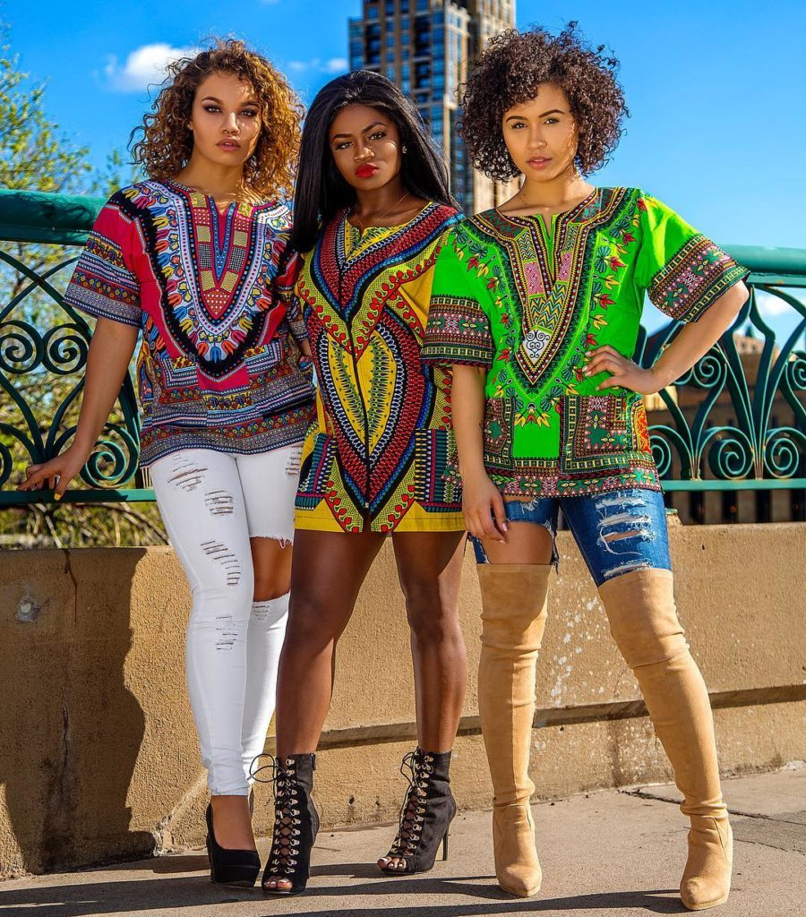 Latest Women's Dashiki Designs December 2017