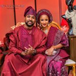 latest agbada designs for couples banky w adesua etomi