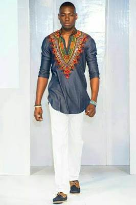 latest dashiki style men image