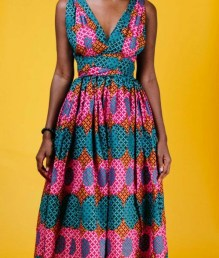 Ankara fashion ankara gown image