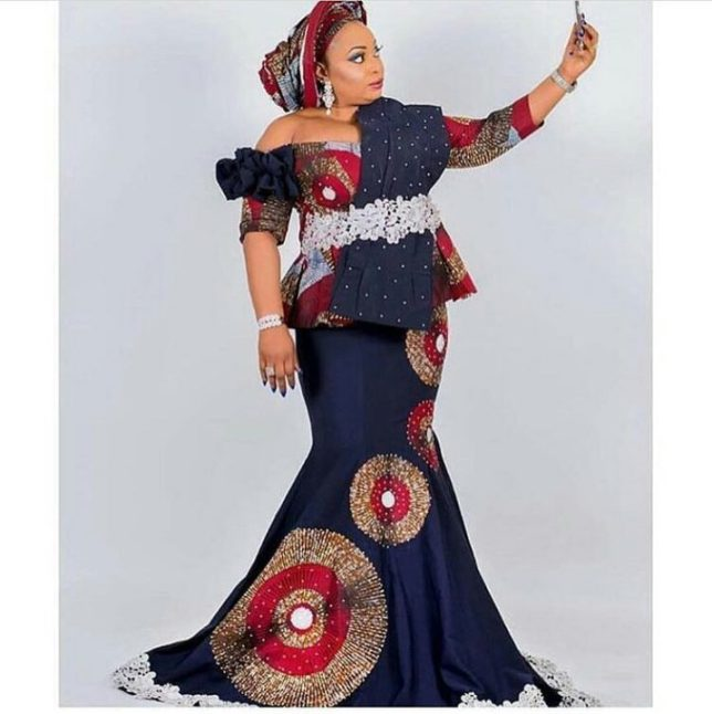 Trendy Styles Made With Ankara For Ladies 6