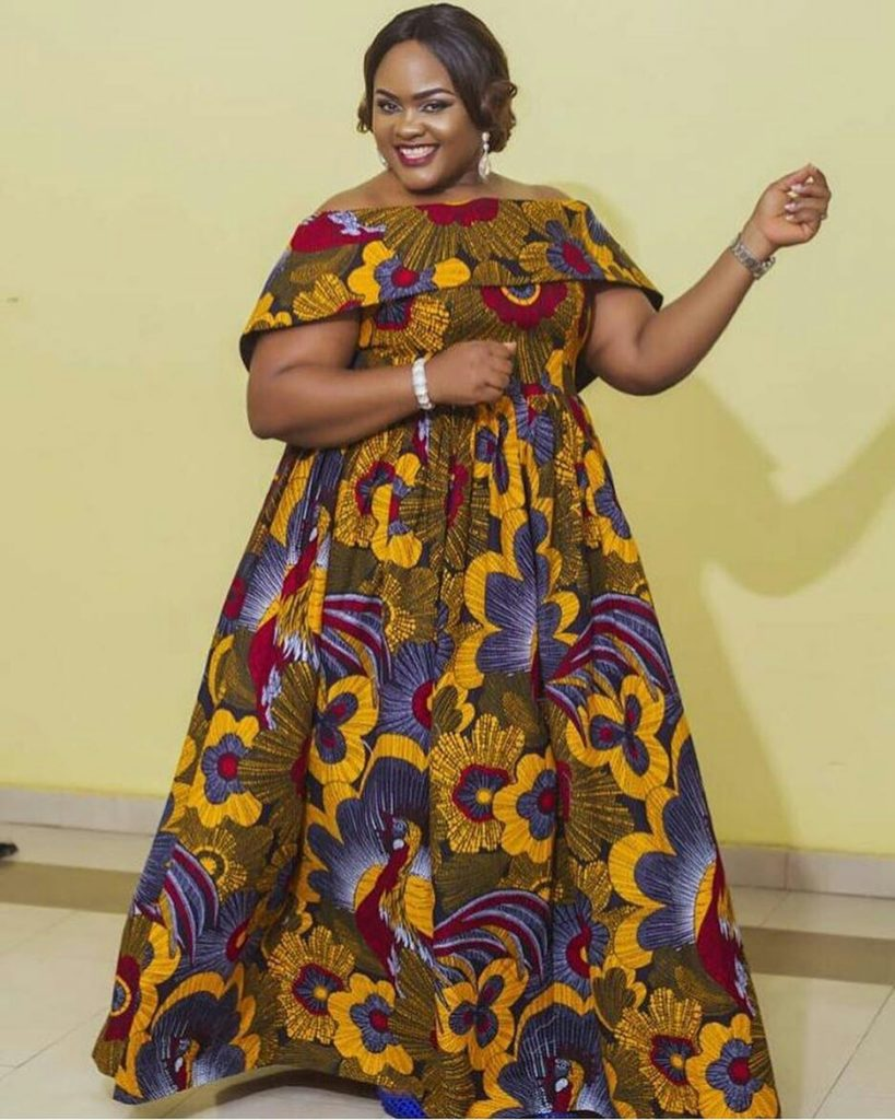 20 Latest Ankara Gowns For January 2018