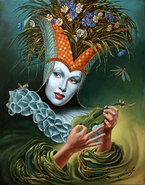 Fine art by Michael Cheval