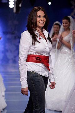 Fashion designer Mireille Dagher