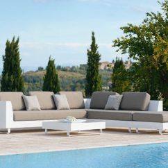 Sunbrella Fabric Sectional Sofas Sofa Agatha Retratil E Reclinavel Allure - Couture Outdoor
