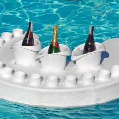 Floating Pool Chairs With Cup Holders Lawn Chair Rocker In Bar Perfect For Gatherings Couture