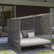 Skyline Geometric Daybed - Couture Outdoor
