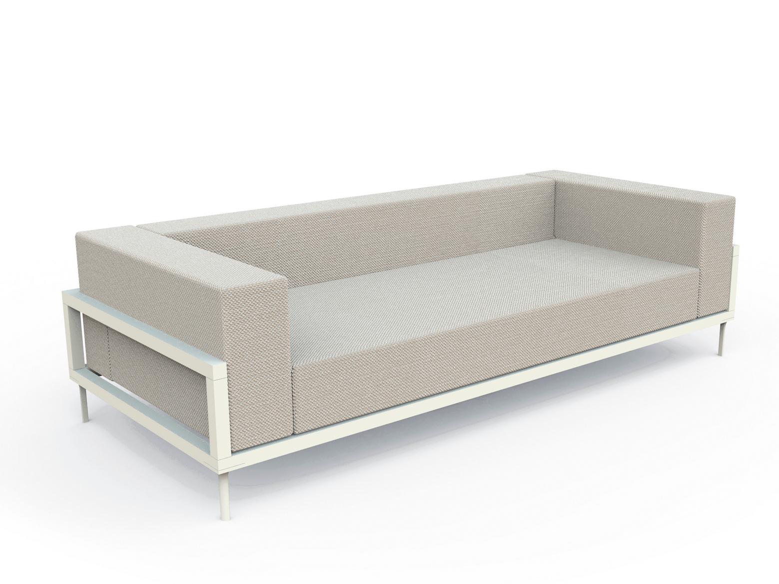 luxe 2 seat sofa slipcover ikea single sleeper apropos seater option daybed aluminum mod couture