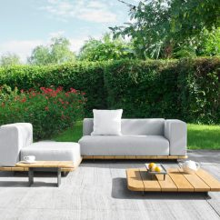 Teak Outdoor Sofa Doc Bunk Bed Amazon Palo Sectional Modular Couture