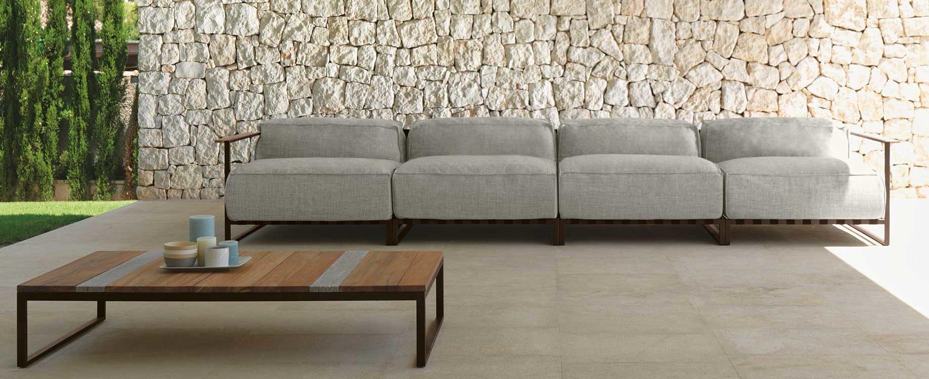 Badar Modular Sectional Sofa  Couture Outdoor